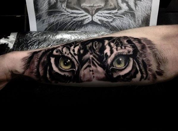 eye of the tiger tattoo