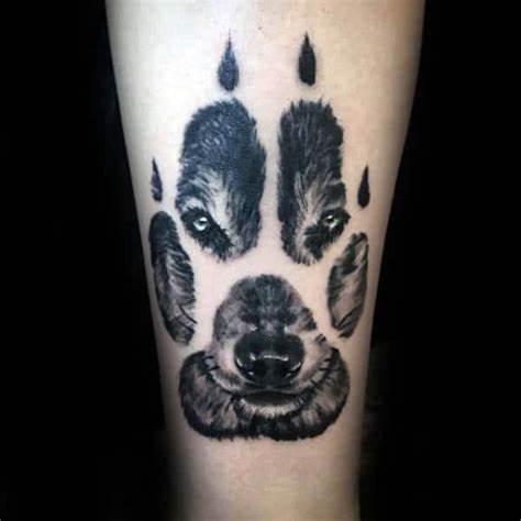 farkas mancs tattoo