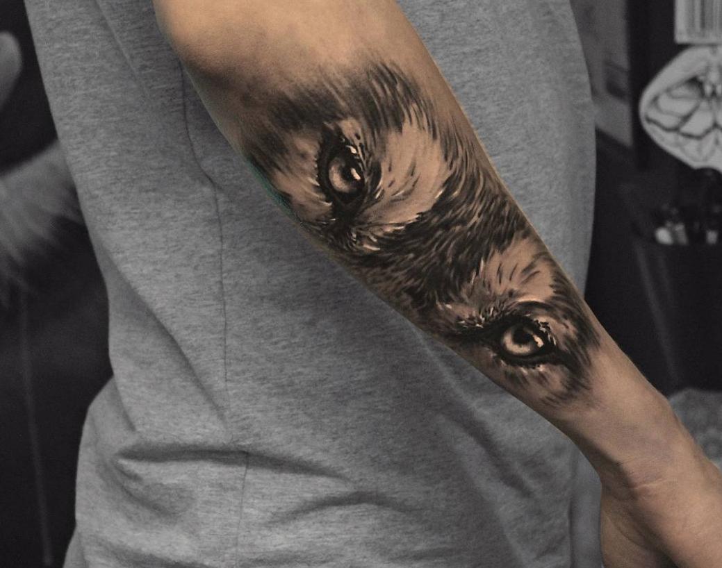 farkas szem tattoo